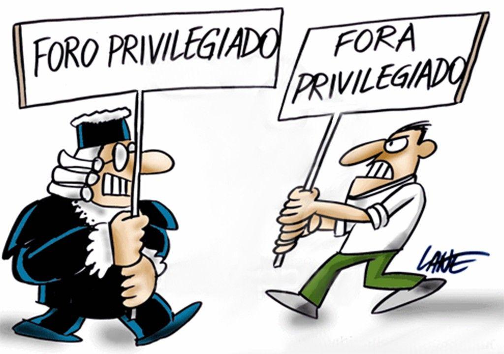 O foro privilegiado precisa acabar