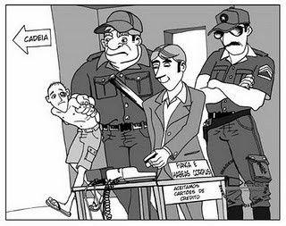 Em que momento atua a seletividade penal na hora da priso ou da elaborao das leis