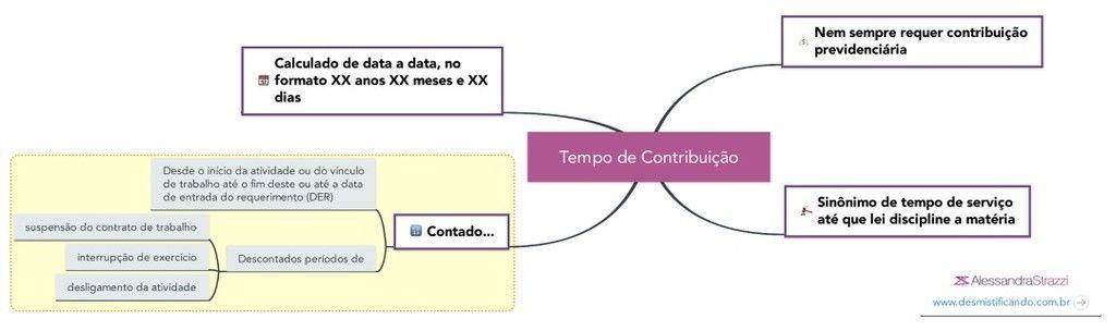 Tempo de contribuio ou tempo de servio explicao descomplicada INSS