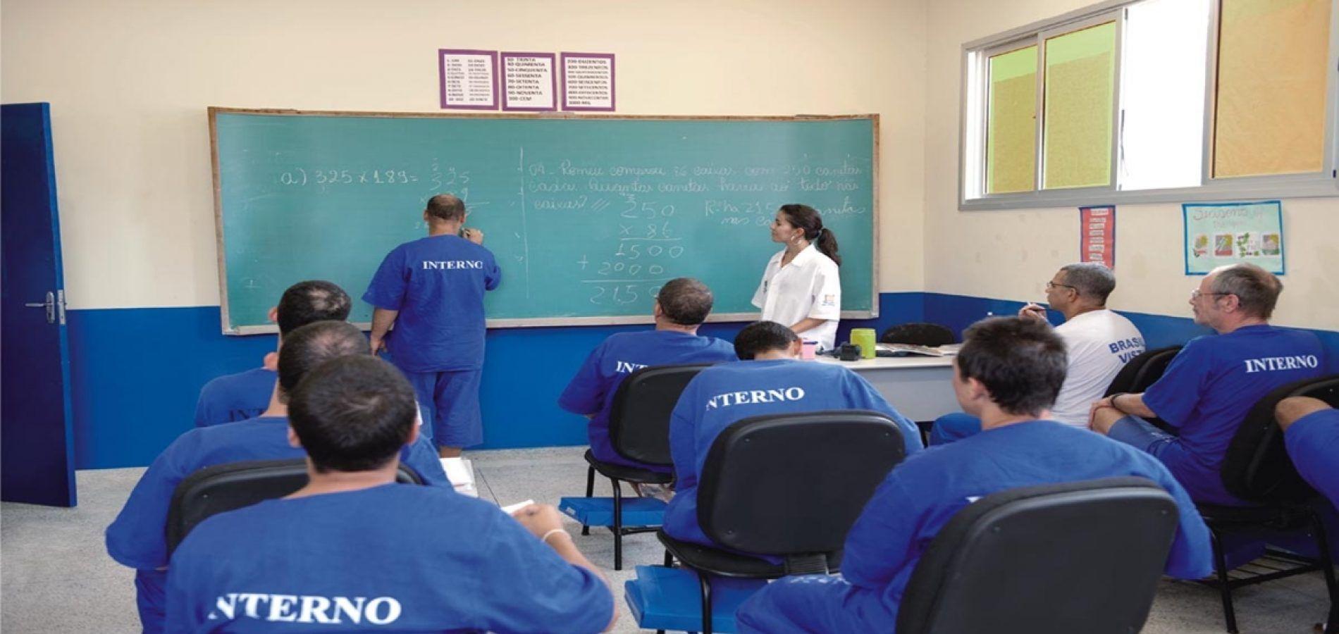 Percentual de presos estudando no Piau o maior do BrasilPercentual de presos estudando no Piau o maior do Brasil - Cidades na Net
