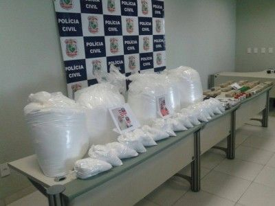 Polcia prende 7 suspeitos de trfico e e apreende 179 kg de drogas no Cear