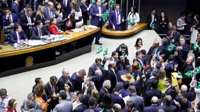 Cmara dos Deputados aprovou o texto base da reforma da previdncia