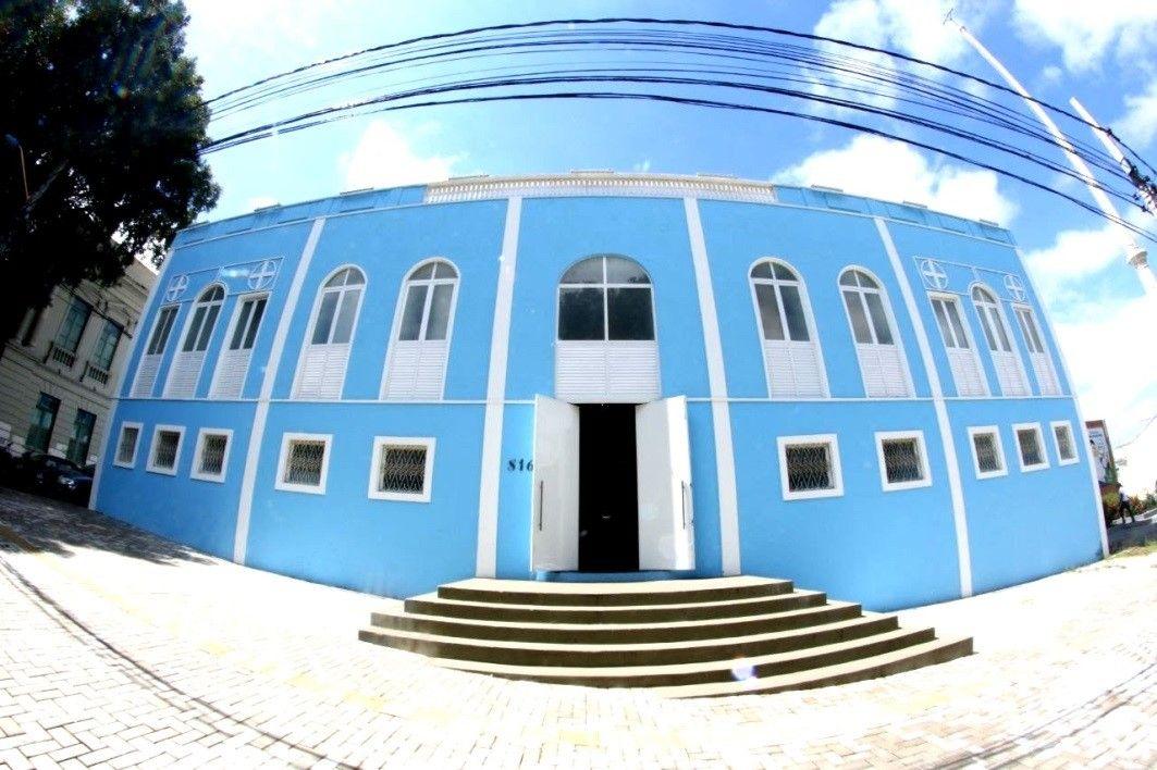Foto de Gleyca Lima, Palácio da Cultura sede da Secretaria de Estado da Cultura, cidade de Teresina PI.