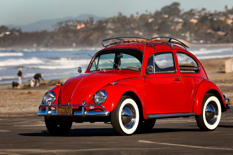 Fusca de nica dona  restaurado de graa pela VW - Motor Show