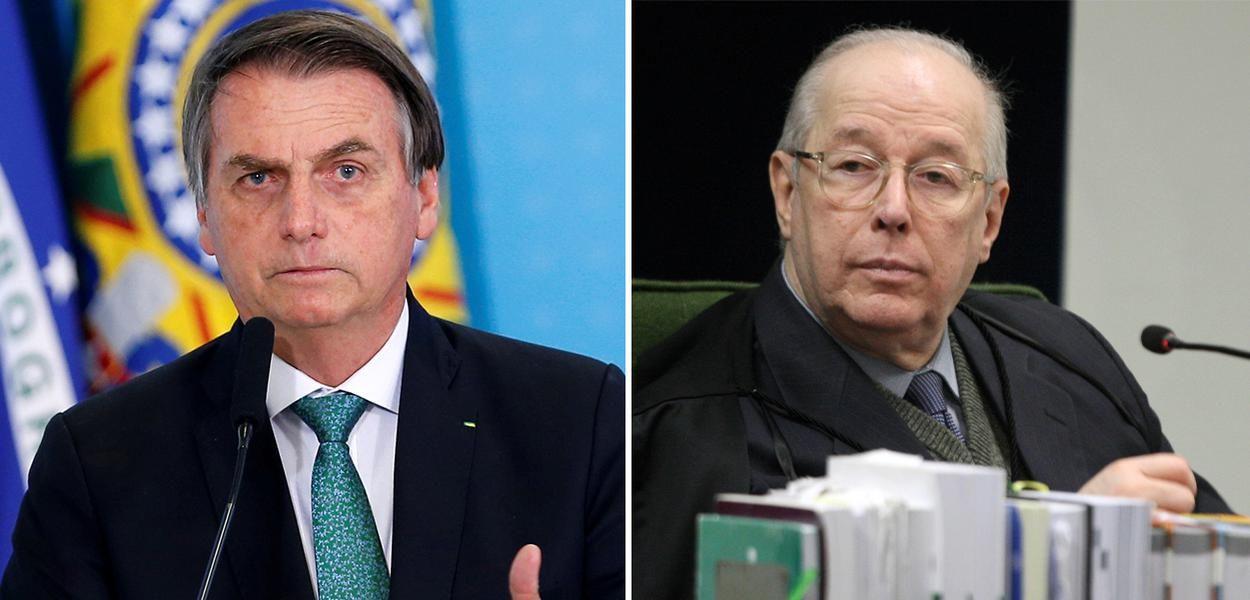 Nas mos de Celso de Mello a ao que pode emparedar Bolsonaro