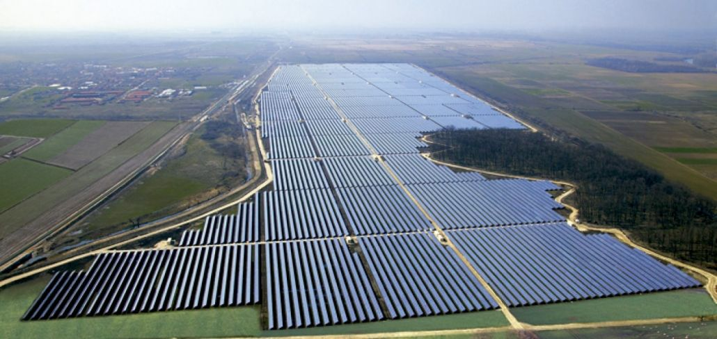 Foto Parque Solar Nova Olinda, da Enel Green Power Brasil, município de Ribeira do Piauí.