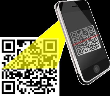 celular e leitura via qr code