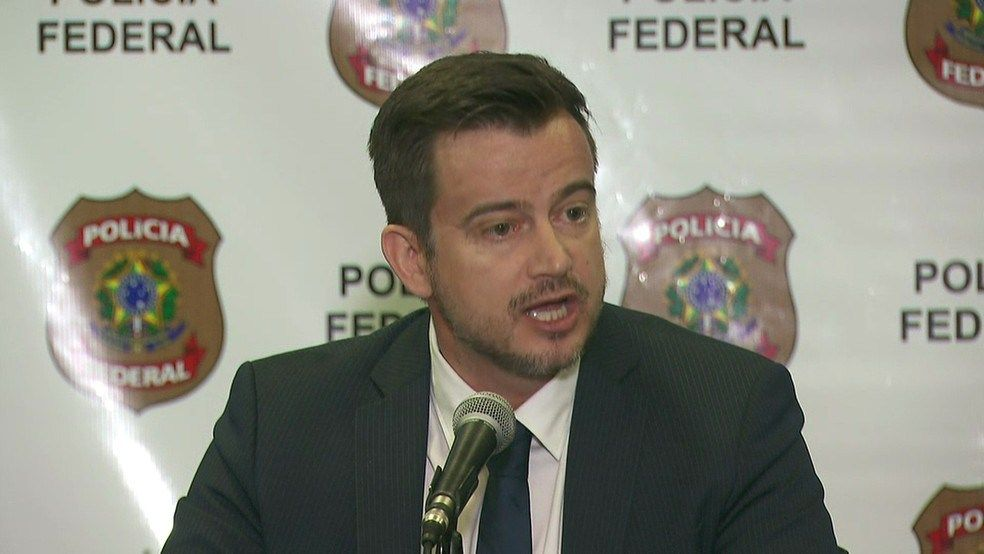 Delegado da PF Luiz Roberto Ungaretti de Godoy responsvel pela operao Foto TV Globoreproduo