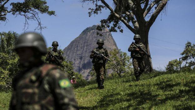 Militares no Rio