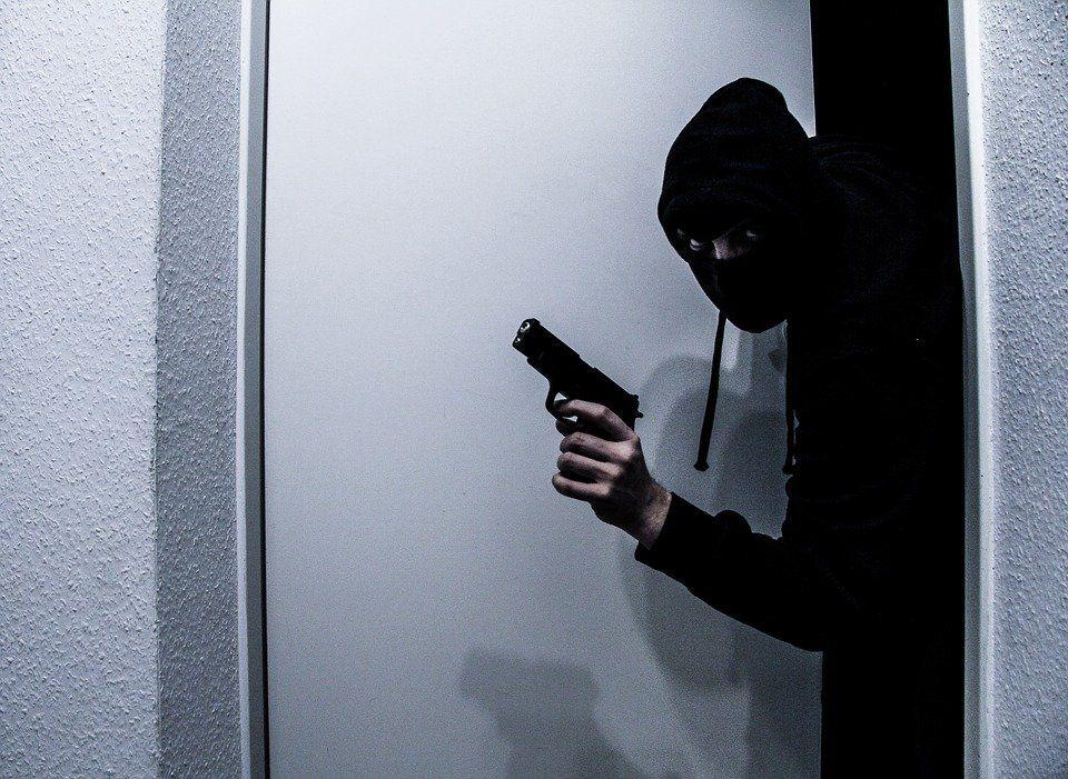 Assaltante Roubo Ladro Homem Predador Crime