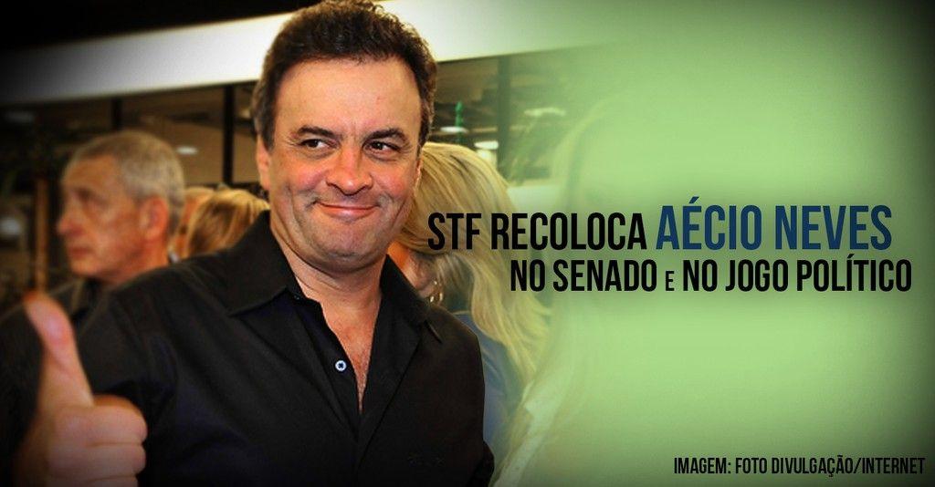 STF recoloca Acio Neves no Senado e no jogo poltico