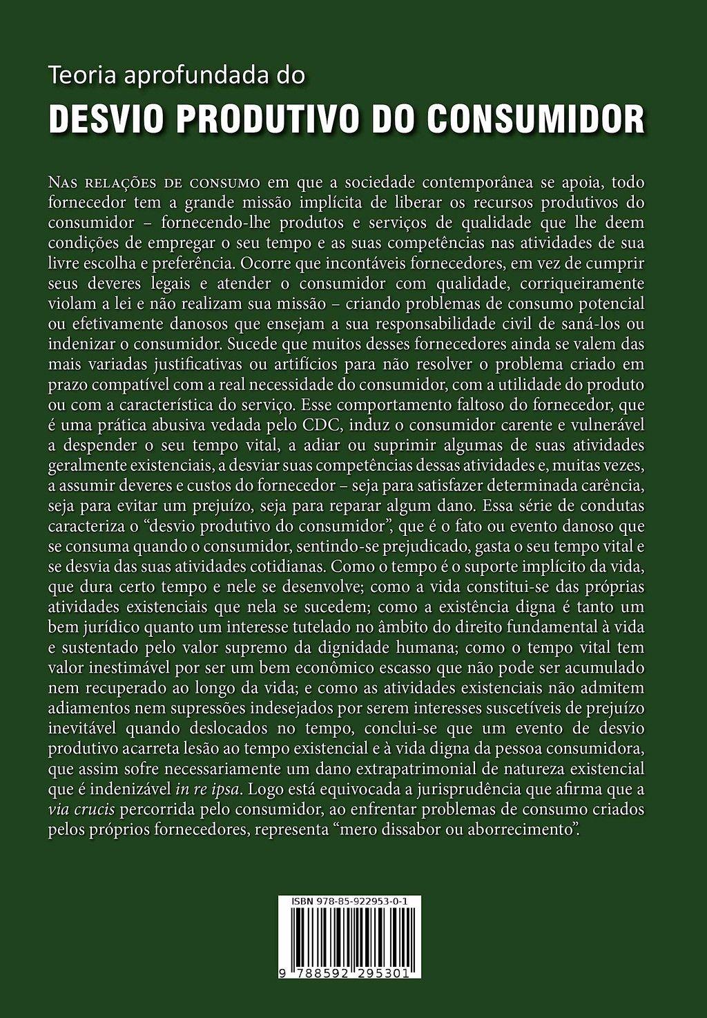 Advogado Marcos Dessaune lana 2 edio do livro com sua Teoria aprofundada do Desvio Produtivo do Consumidor