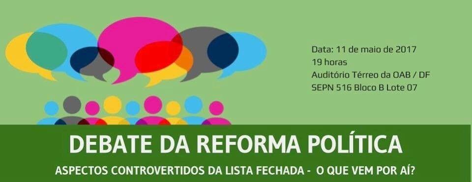 Debate da reforma poltica