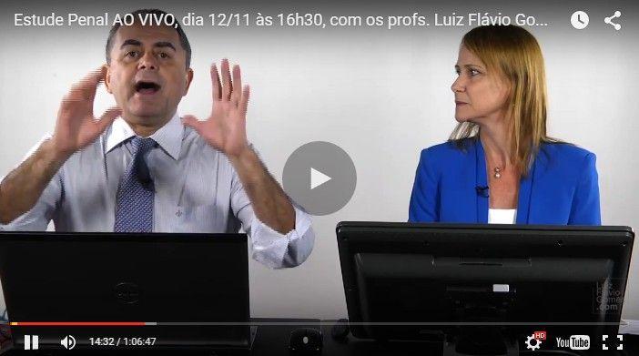 Estude Penal com os profs Luiz Flvio Gomes e Alice Bianchini