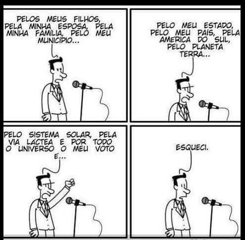 Impeachment Dilma As melhores prolas dos deputados para justificarem o voto