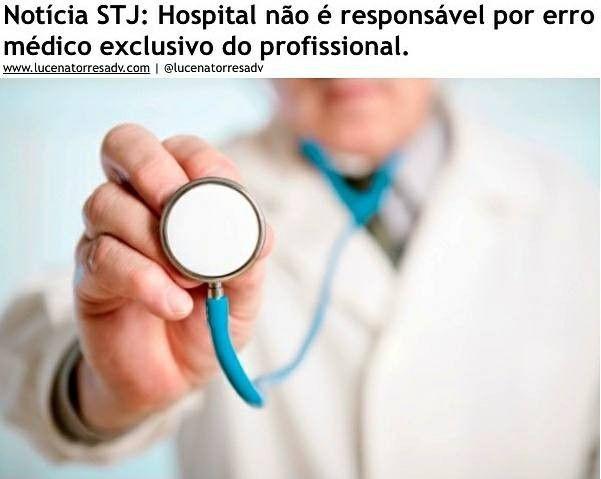 Indenizaes por erro mdico Qual a responsabilidade do Hospital