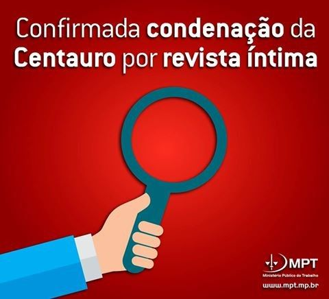 Mantida condenao da Centauro por revista ntima