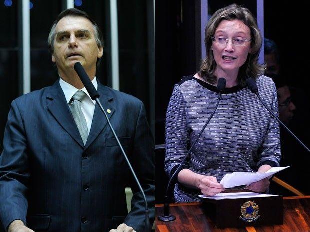 No te estupro porque voc no merece volta a dizer Bolsonaro a deputada