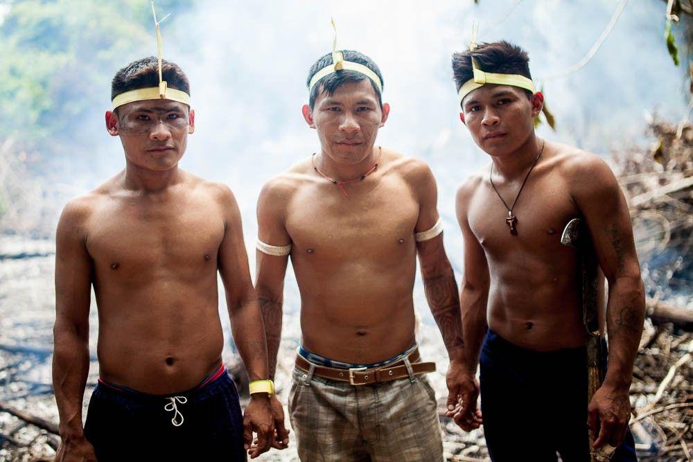 A batalha pela fronteira Munduruku