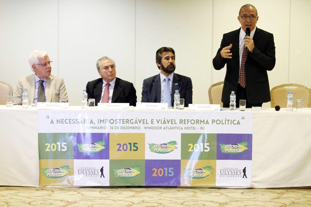 Reforma Poltica tema de debate acadmico