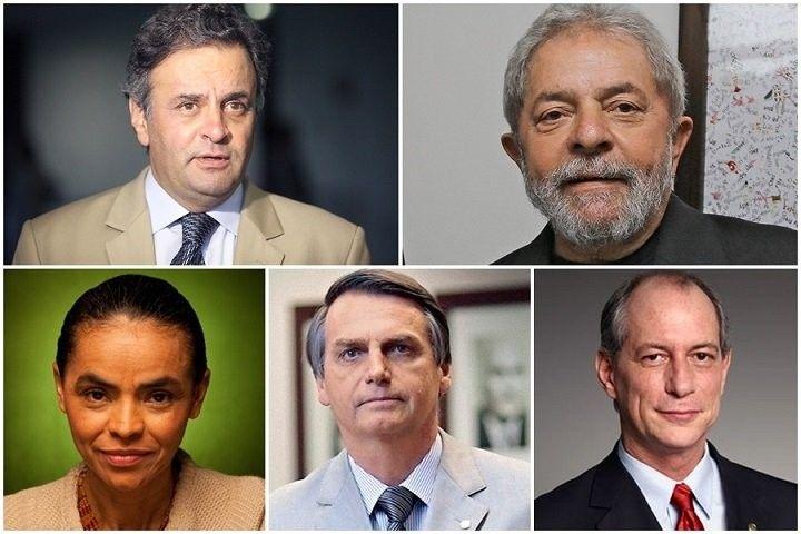 Bolsonaro e Ciro Gomes pontuam em nova pesquisa CNTMDA para a Presidncia