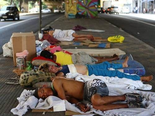 Olimpadas e Higienizao forada de moradores de rua
