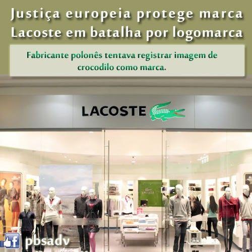 Justia europeia protege marca Lacoste em batalha por logomarca