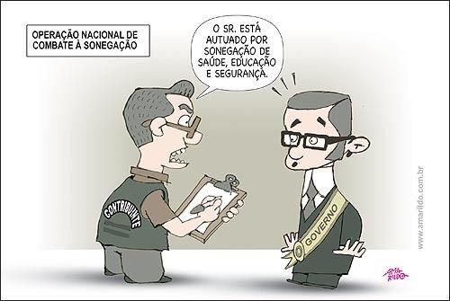 Sonegar imposto errado Nem sempre No Brasil legtima defesa