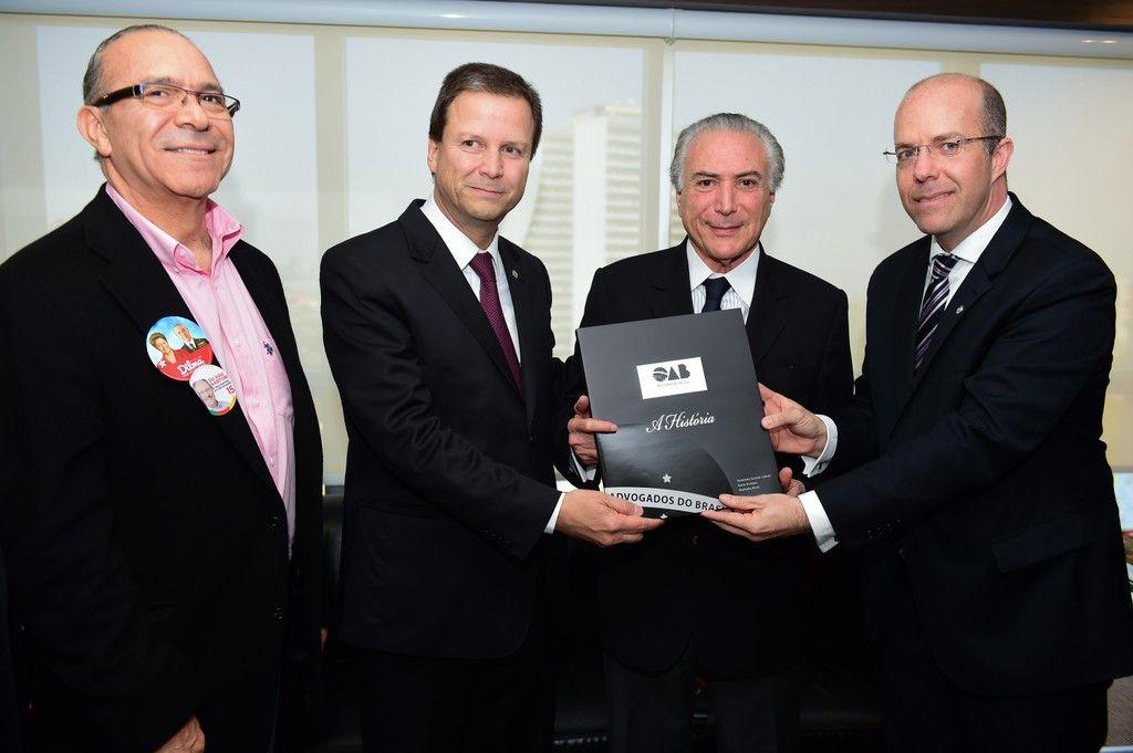 Vice-presidente da Repblica rene-se com dirigentes da OABRS
